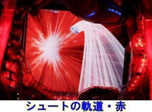 CRキャプテン翼2 シュートの軌道・赤
