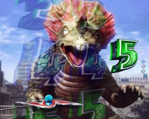 CRぱちんこウルトラセブン2 カプセル怪獣リーチ