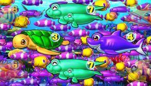 CR大海物語4 BLACK 魚群
